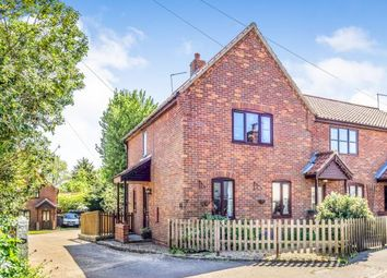 Thumbnail 2 bed end terrace house for sale in Catfield, Great Yarmouth, Norfolk