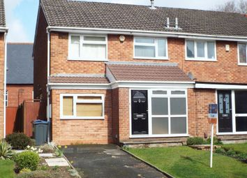 Thumbnail 3 bed semi-detached house to rent in Court Oak Road, Harborne, Birmingham