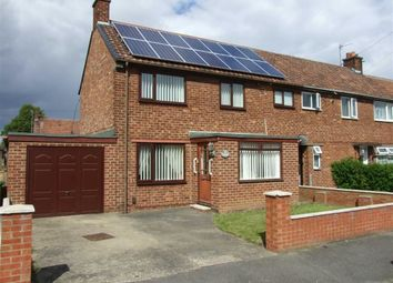 Thumbnail 3 bed end terrace house for sale in Corfe Crescent, Billingham