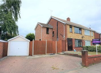 Thumbnail 4 bedroom semi-detached house for sale in Aldercroft Close, Ipswich