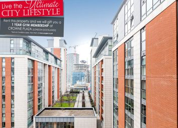 Thumbnail 2 bedroom flat to rent in The Oxygen, 18 Western Gateway, Royal Victoria, London
