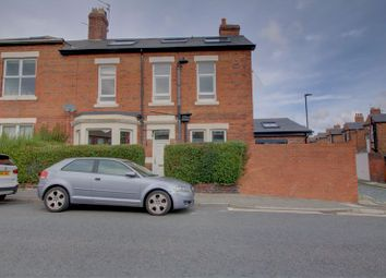 Thumbnail 4 bed end terrace house for sale in Stoneyhurst Road, Gosforth, Newcastle Upon Tyne