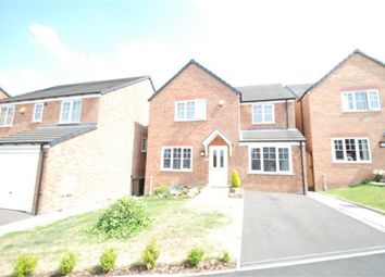 Thumbnail 4 bed detached house for sale in Swineshaw Road, Stalybridge, Cheshire