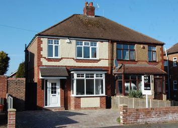 Thumbnail 3 bed semi-detached house for sale in Meadow Road, Albrighton, Wolverhampton