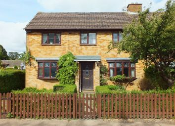 Thumbnail 3 bed semi-detached house for sale in Yardley Road, Grendon, Northampton