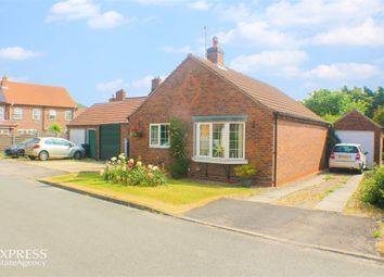 Thumbnail 2 bed detached bungalow for sale in Middlefield Close, Weaverthorpe, Malton, North Yorkshire