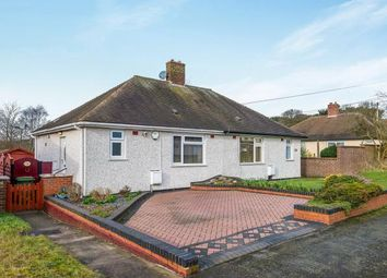 Thumbnail 1 bed bungalow for sale in Garrick Road, Cannock, Staffordshire, Staffs