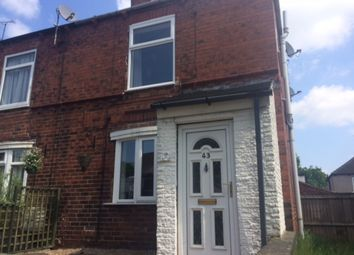 Thumbnail 2 bed end terrace house to rent in 43 Park Grove, Bramley, Rotherham.