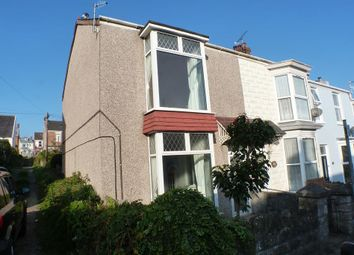 Thumbnail 3 bedroom end terrace house for sale in Woodville Road, Mumbles