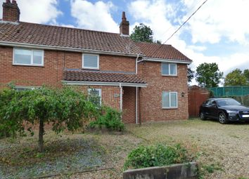 Thumbnail 5 bed semi-detached house for sale in West Way, Tacolneston, Norwich