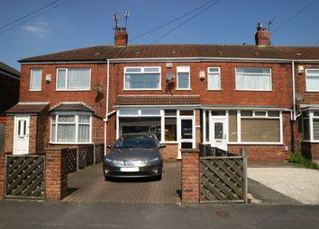 Thumbnail 2 bedroom terraced house for sale in Glebe Road, Hull, North Humberside HU70DX