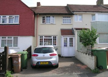 Thumbnail 2 bed terraced house to rent in Browning Avenue, Worcester Park