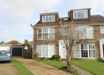 Thumbnail 3 bed semi-detached house for sale in Greenacres, Shoreham By Sea, West Sussex