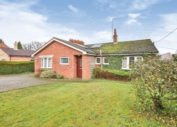 Thumbnail 2 bed detached bungalow for sale in Bittering Street, Gressenhall, Dereham