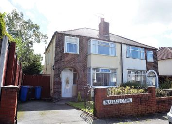 Thumbnail 3 bed semi-detached house to rent in Wallace Drive, Liverpool
