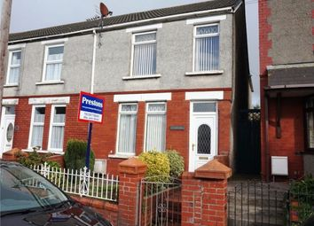 Thumbnail 3 bedroom end terrace house for sale in Heol Fach, North Cornelly, Bridgend
