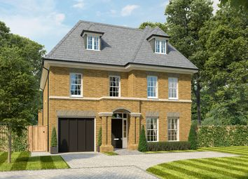 Thumbnail 6 bed detached house for sale in Parvis Road, West Byfleet