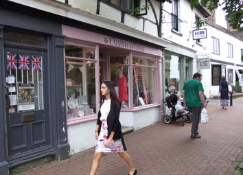 Thumbnail Retail premises for sale in High Street, East Grinstead