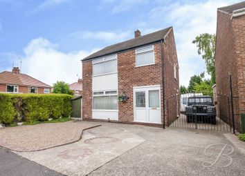 Thumbnail 3 bed detached house for sale in Newport Crescent, Mansfield