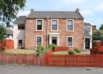 Thumbnail 3 bedroom flat for sale in Springfield Crescent, Uddingston, Glasgow