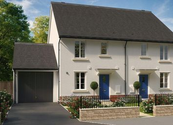 "Thumbnail 3 bed semi-detached house for sale in ""Barwick"" at Windsor Avenue, Newton Abbot"
