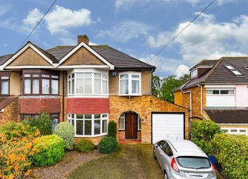Thumbnail 3 bed semi-detached house for sale in Whitehall Close, Chigwell