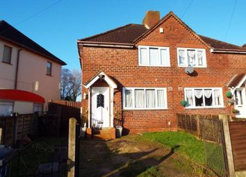 Thumbnail 2 bed terraced house for sale in Ogley Crescent, Walsall, West Midlands