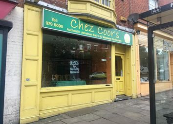 Thumbnail Retail premises to let in 127 Mansfield Road, Nottingham