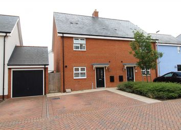 Thumbnail 3 bed semi-detached house for sale in Peache Road, Colchester