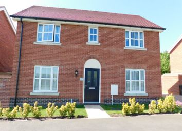 Thumbnail 3 bed detached house for sale in Brooke Way, Stowmarket