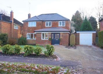 Thumbnail 4 bed detached house for sale in Gales Drive, Crawley