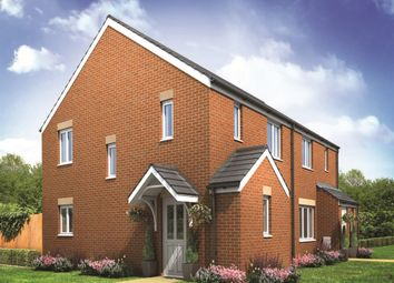 "Thumbnail 3 bed semi-detached house for sale in ""The Hanbury Corner"" at Bennetts Row, Chester Road, Oakenholt, Flint"