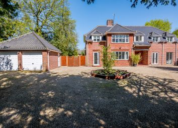 Thumbnail 5 bed detached house for sale in Taverham Road, Taverham, Norwich