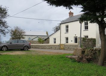 Thumbnail 3 bed detached house for sale in St Levan, Penzance, Cornwall.