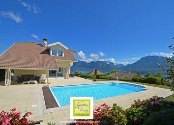 Thumbnail 4 bed villa for sale in Saint Jorioz, Annecy (Commune), Annecy, Haute-Savoie, Rhône-Alpes, France