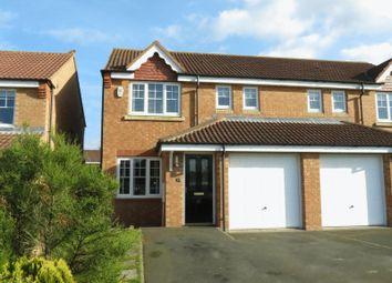 Thumbnail 3 bed semi-detached house for sale in Ellerby Mews, Thornley, County Durham