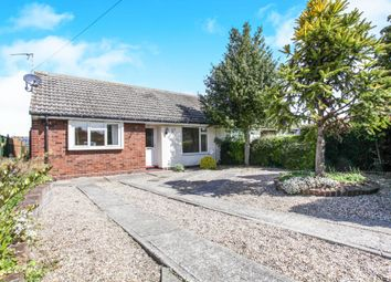 Thumbnail 2 bed semi-detached bungalow for sale in Hillfield, Foxton, Cambridge