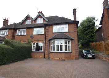 Thumbnail 5 bed semi-detached house for sale in Ashby Road, Burton-On-Trent, Staffordshire