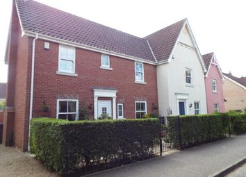 Thumbnail 3 bed end terrace house for sale in Watton, Thetford, Norfolk