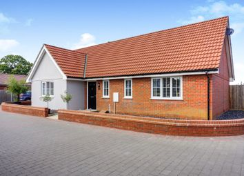 Thumbnail 3 bed detached bungalow for sale in Keeble Road, Brantham, Manningtree
