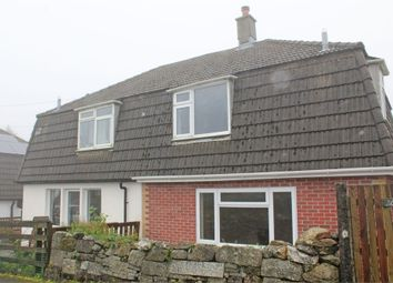 Thumbnail 3 bed semi-detached house for sale in Bellever Close, Princetown, Yelverton, Devon