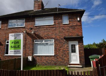Thumbnail 3 bed semi-detached house for sale in St Pauls Close, Rock Ferry, Merseyside