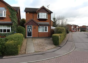 Thumbnail 3 bed detached house for sale in Machin Drive, Broughton Astley, Leicester