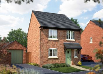 "Thumbnail 4 bed detached house for sale in ""The Salisbury"" at Burton Road, Streethay, Lichfield"