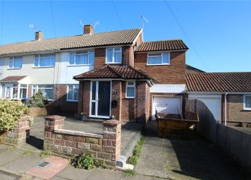 Thumbnail 4 bed end terrace house for sale in Oakleigh Road, Worthing, West Sussex