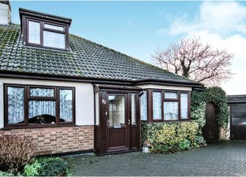 Thumbnail 2 bed semi-detached bungalow for sale in Lympstone Close, Westcliff-On-Sea, Essex