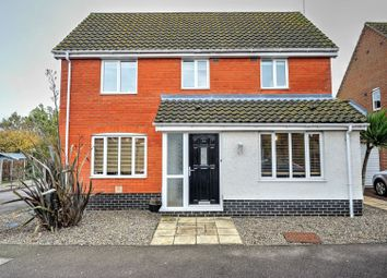 Thumbnail 3 bed detached house for sale in Janet Hadenham Close, Worlingham