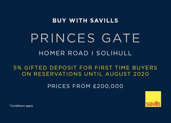 Thumbnail Studio for sale in Princes Gate, Solihull, West Midlands