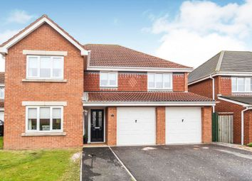 Thumbnail 5 bedroom detached house for sale in Harvester Close, Hartlepool