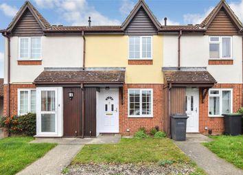 Thumbnail 2 bed terraced house for sale in Marlowe Road, Poets Development, Larkfield, Kent